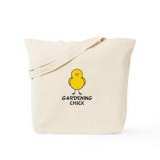Gardening Chick Tote Bag