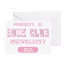 Property of Book Club University Greeting Card
