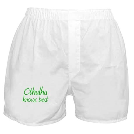 Cthulhu Knows Best Boxer Shorts