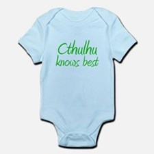 Cthulhu Knows Best Infant Bodysuit