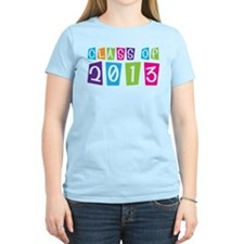Class Of 2013 Colorful T-Shirt