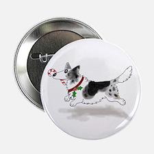 Blue Cardigan Welsh Corgi Button