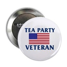 "Tea Party Veteran 2.25"" Button"