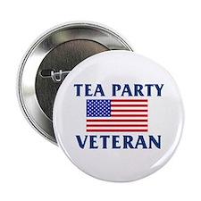 """Tea Party Veteran 2.25"""" Button"""
