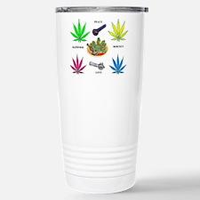 Unique Hippie hippy hippies Travel Mug