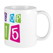 Colorful Class Of 2015 Mug