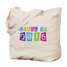 Colorful Class Of 2015 Tote Bag