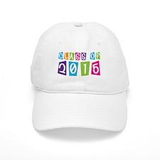 Colorful Class Of 2015 Baseball Cap