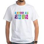 Colorful Class Of 2015 White T-Shirt