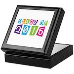 Colorful Class Of 2015 Keepsake Box