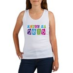 Colorful Class Of 2015 Women's Tank Top