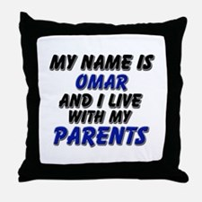 my name is omar and I live with my parents Throw P