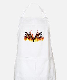 Racing Flag Fire 1 BBQ Apron