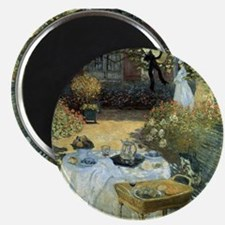 """The Luncheon by Claude Monet 2.25"""" Magnet (10 pack"""