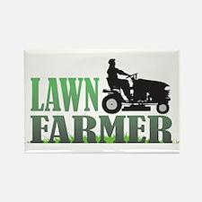 Lawn Farmer Rectangle Magnet