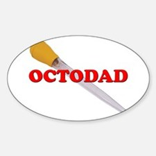 OCTODAD Oval Decal