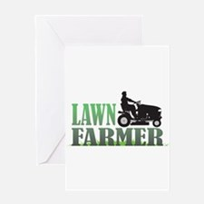 Lawn Farmer Greeting Card
