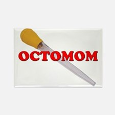OCTOMOM Rectangle Magnet