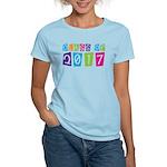 Colorful Class Of 2017 Women's Light T-Shirt