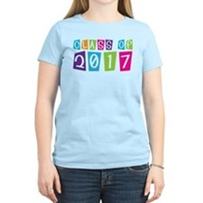 Colorful Class Of 2017 T-Shirt