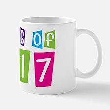 Colorful Class Of 2017 Mug