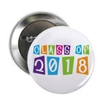 "Whimsical Class Of 2018 2.25"" Button"