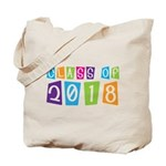 Whimsical Class Of 2018 Tote Bag