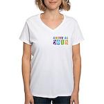 Whimsical Class Of 2018 Women's V-Neck T-Shirt