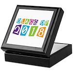 Whimsical Class Of 2018 Keepsake Box