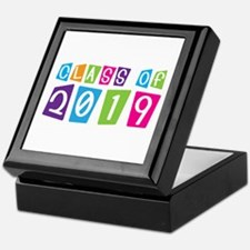 Colorful Class Of 2019 Keepsake Box