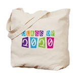 Colorful Class Of 2020 Tote Bag