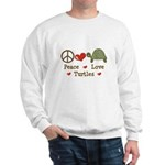 Peace Love Turtles Sweatshirt