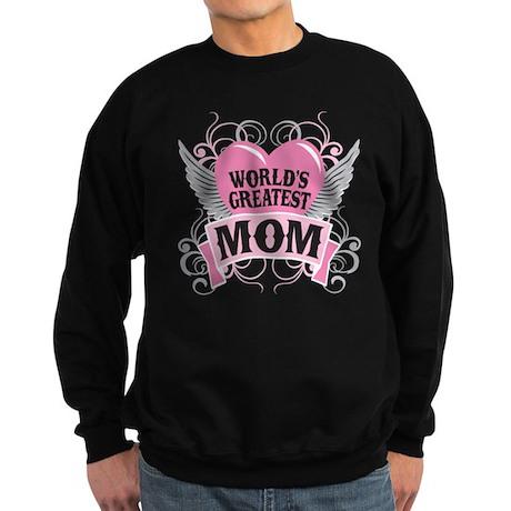 World's Greatest Mom Sweatshirt (dark)
