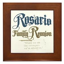 Rosario Family Reunion Framed Tile
