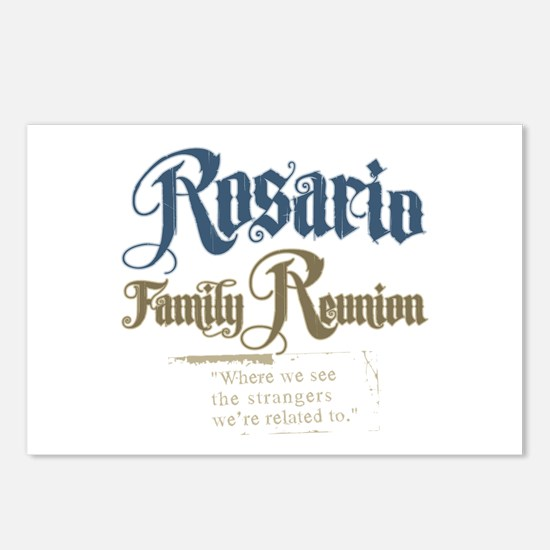 Rosario Family Reunion Postcards (Package of 8)