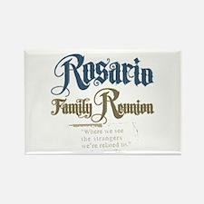 Rosario Family Reunion Rectangle Magnet