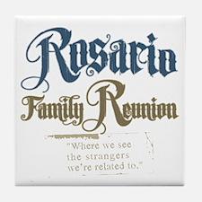 Rosario Family Reunion Tile Coaster