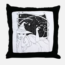 BBWitch Throw Pillow