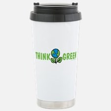 Think Green Thermos Mug