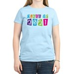 Colorful Class Of 2021 Women's Light T-Shirt