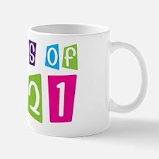 Colorful Class Of 2021 Small Small Mug