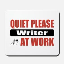 Writer Work Mousepad