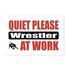 Wrestler Work Postcards (Package of 8)