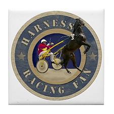 Harness Racing Fan Tile Coaster