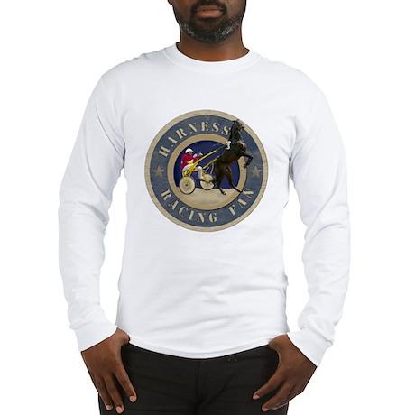 Harness Racing Fan Long Sleeve T-Shirt