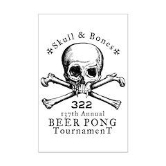 Bonesman Beer Pong Posters