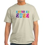 Colorful Class Of 2022 Light T-Shirt