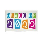 Colorful Class Of 2022 Rectangle Magnet