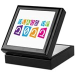 Colorful Class Of 2022 Keepsake Box