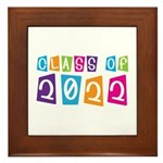 Colorful Class Of 2022 Framed Tile
